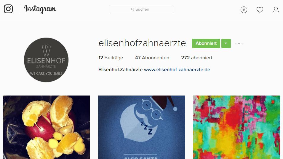 Instagram@elisenhofzahnaerzte